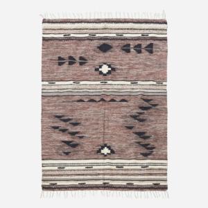 TRIBE, szőnyeg, pamut, téglalap, nagy